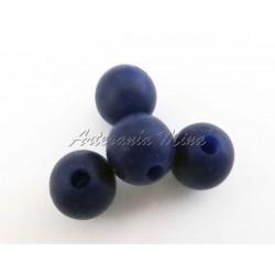 Bola de silicona 9 mm azul...