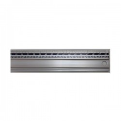 Regla de aluminio 50 cm...