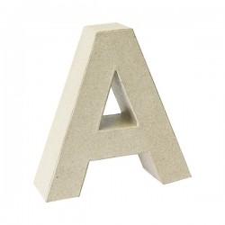 Letra de cartón A para...