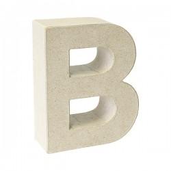 Letra de cartón B para...