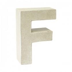Letra de cartón F para...