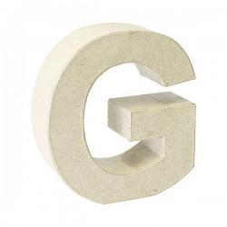 Letra de cartón G para...