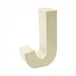 Letra de cartón J para...