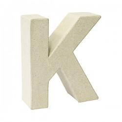 Letra de cartón K para...
