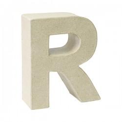 Letra de cartón R para...