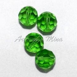 Bola Cristal Checo 10 mm verde