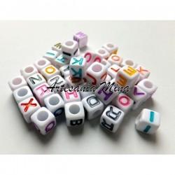 Lote cubo letras acrílcas...