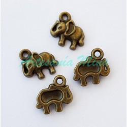 Colgante charm elefante 11...