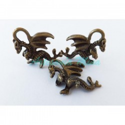 Colgante dragón color bronce
