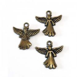 Colgante ángel bronce 20 x...