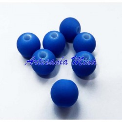 Bola clorocaucho 6 mm. azul...