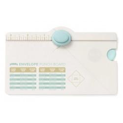 Mini envelope punch board...