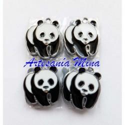 Colgante enamel oso panda...
