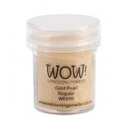 Polvo embossing WOW Gold...