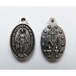 Medalla ovalada Virgen...