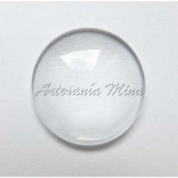 Cabuchón cristal redondo 20 mm