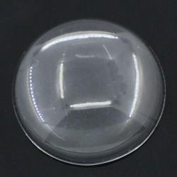 Cabuchón cristal redondo 30 mm