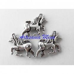Colgante unicornio en plata...
