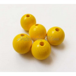 Bolas madera 15 mm antibaba...