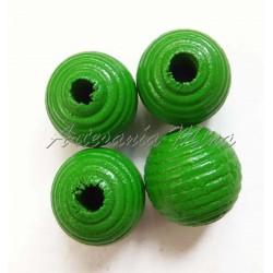 Bola de madera 10 mm rayada...