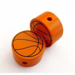 Círculo madera balón...