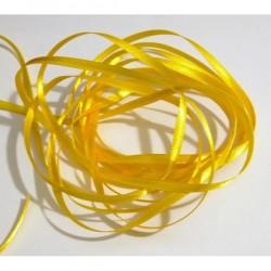 Cinta raso 3 mm amarilla...