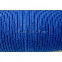 Cordón algodón azulón 3,5...