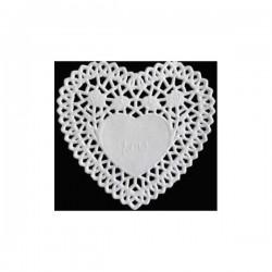 Blonda de papel corazón 10...