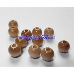 Bola madera 8 mm natural