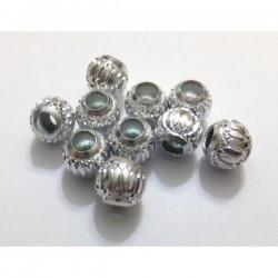 Bola aluminio 10 mm plateada