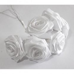 Rosa 23 mm blanca (6 rosas)