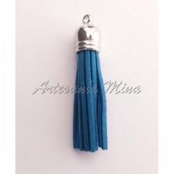 Borla antelina 6 cm azul...