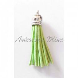 Borla antelina 6 cm verde...