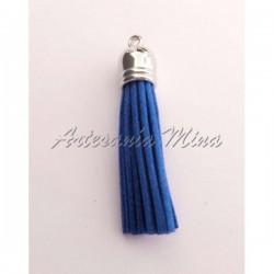 Borla antelina 6 cm azulón...