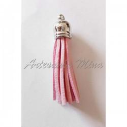 Borla antelina 6 cm rosa...