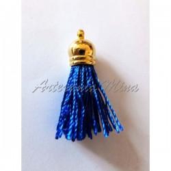 Borla hilo 4,5 cm azul...