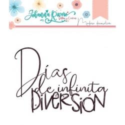 """Madera decorativa """"Días..."""