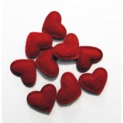Corazón rojo fieltro 10 x...