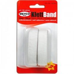 Velcro blanco adhesivo 16...
