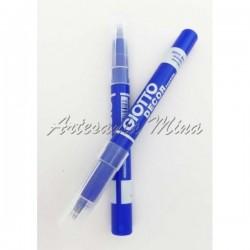 Rotulador textil azul...