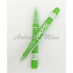 Rotulador textil verde...