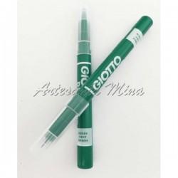 Rotulador textil verde GIOTTO