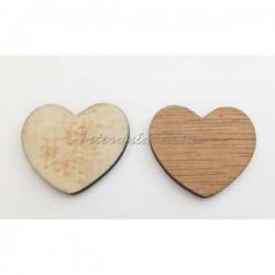Corazón de madera liso...