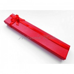 Caja cartón 20 x 4 cm roja...