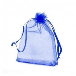 Bolsa organza color azulón...