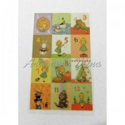 Stickers 12 sellos variados...