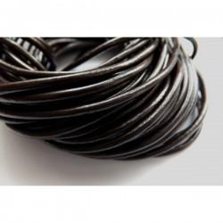Cordón de cuero 2 mm color...