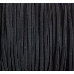 Cordón antelina 3 mm. negro...