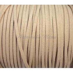 Cordón antelina 3 mm camel...
