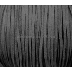 Cordón antelina 3 mm gris...